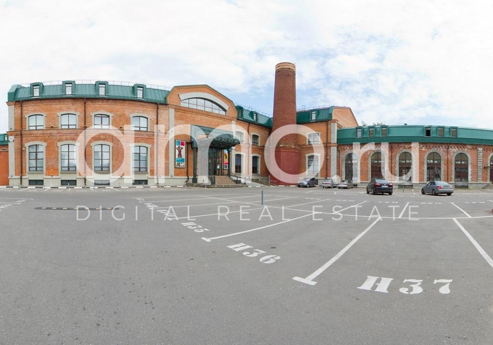 Вид паркинга Новоспасский Двор